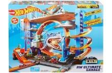 Hot Wheels Ultimate Garage Легендарный гараж Хот Вилс с акулой