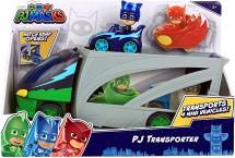 Герои в масках транспортер автовоз и машинка Кетбоя PJ Masks Transporter