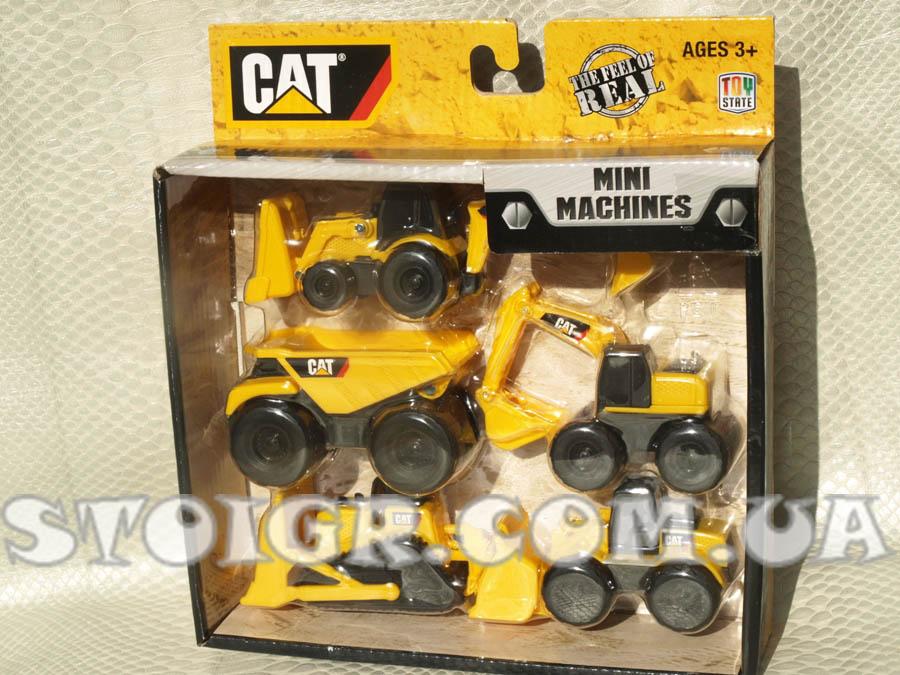 CAT техника машинки 5 штук