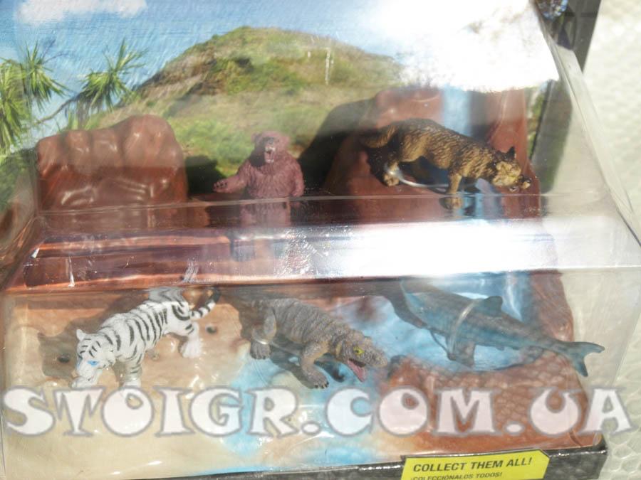 Африканские приключения - фигурки животных серия 1