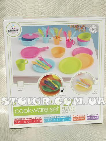 Посудка детская 27 предметов KidKraft