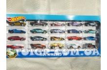 Hot wheels Набор 20 штук упаковка