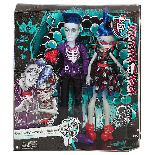 Набор кукол Гулия Йелпс и Слоу Мо  серия Любовь не умирает