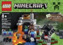 LEGO Пещера Майнкрафт 21113
